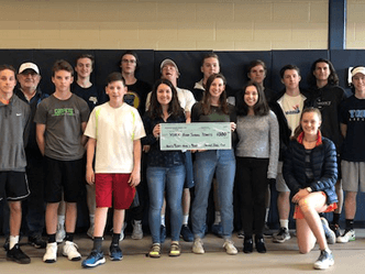 seacoast tennis club donates money to EHS