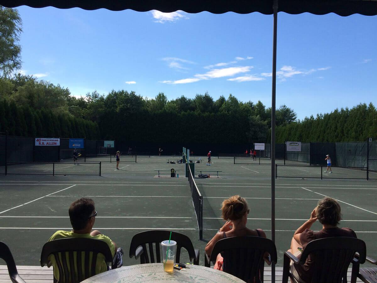 round robin tennis